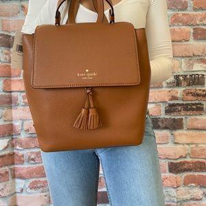 Kate spade MEDIUM warm ginger Hayes backpack BAG